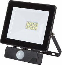 Perel Foco de exterior LED 20 W - Nero
