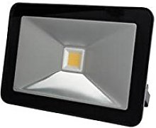 Perel - Foco LED (10 W, carcasa negra), Blanco,