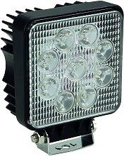 Perel Foco LED 27 W - Nero