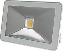 Perel - Foco LED de diseño, 50 W, carcasa blanca,