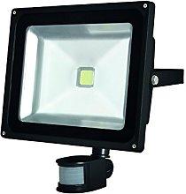 Perel LEDA3005WW-BP Foco LED para Exteriores con