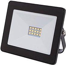 Perel leda6001nw de B LED de Foco exterior, 10W,