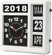 Perel Reloj de pared con calendario versión