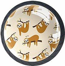 Perezoso AnimalSloth - Perillas para cajones y
