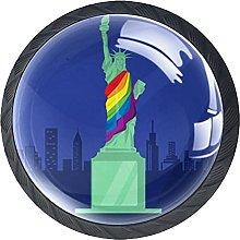 Perilla del cajón Estatua de la Libertad Tirador