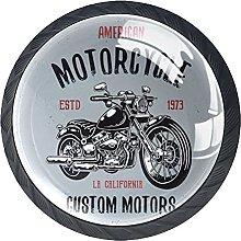 Perilla del cajón Motocicleta Tirador para
