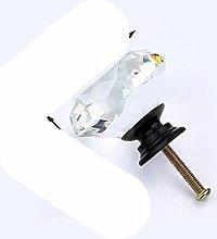 Perillas de cristal de diamante de 20 mm 30 mm