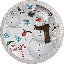 Perillas de cristal para gabinete de invierno (4