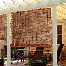 Persianas Enrollables de Bambú,Persianas de Caña