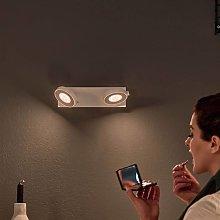 Philips Clockwork foco LED blanco 2 luces WarmGlow