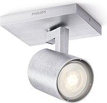 Philips Foco GU10, bajo consumo, 3.5 W, gris