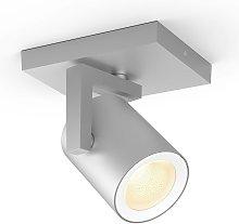 Philips Hue Argenta foco LED, 1 luz, aluminio