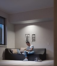 Philips Hue Milliskin foco LED redondo, aluminio
