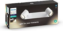 Philips Hue White Ambiance Adore foco LED, 2 focos