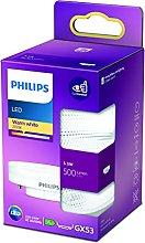 Philips LED Foco Bombilla, 500LM GX53, Luz Blanca