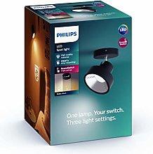 Philips myLiving foco Bukko LED SceneSwitch negro