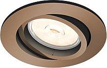 Philips myLiving Foco empotrable GU10, luz blanca