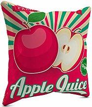 Picanova - Apple Juice 40 x 40 cm - Cojín