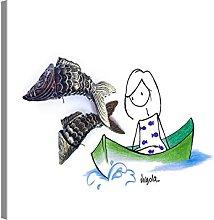 PICANOVA Pisces 40 x 30 cm – Lienzo de alta