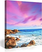 PICANOVA Sunrise 5 80 x 80 cm – Lienzo de alta