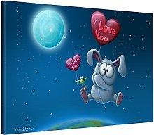 Picanova TooshToosh Baloon Bunny 60 x 40 cm –
