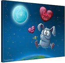 Picanova TooshToosh Baloon Bunny 80 x 80 cm –