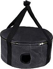 Picnic Pot Storage Bag Portable Camping Vajilla