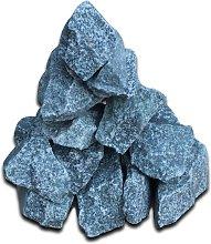 Piedras para calefacción de sauna 15 kg - Azul