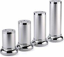 Pies De Muebles De Aluminio 4 Piezas - Patas para