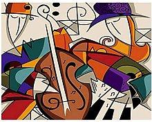 Pintar Por NumerosAdultos Bodegón De Violín
