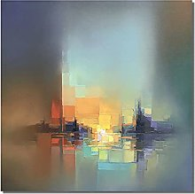 Pintura Al Oleo,Modilan Color Arte Geométrico