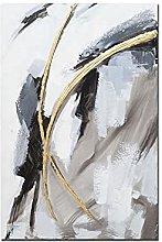 Pintura Al Óleo Pintada A Mano Sobre Lienzo