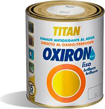 Pintura Oxiron liso agua negro - Titan