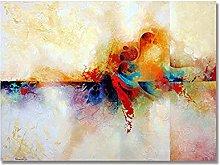 Pintura Pintada A Mano 100%,Pintura De Color