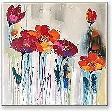 Pintura Pintada A Mano 100%,Textura De Color