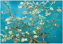 Pintura sobre lienzo Impresionista Flor de
