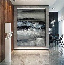Pinturas Oleo Abstracto De Gran Tamaño, Moderno,
