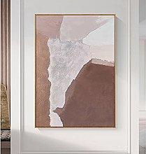 Pinturas Oleo,Marrón Blanco Textura Arte
