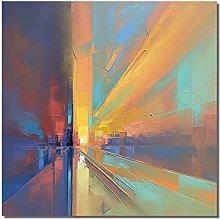 Pinturas Oleo,Modilan Rayos De Luz Solar