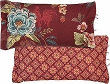 PIP Studio Cojín Poppy Stitch   Rojo - 35 x 60