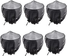 Pipulu Cubierta de Malla para Barril de Lluvia con
