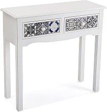 Pireo Mueble Recibidor Estrecho, Mesa Consola,