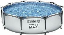 Piscina Desmontable Tubular Bestway Steel Pro Max