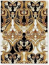 Pittura diamante 5D fai da te,Patrón barroco sin