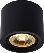 Plafón LED Fedler dim to warm, negro