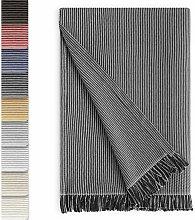 Plaid Colcha Multiusos 180 x 260 cm Negro