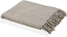 Plaid Cotton Marfil - Trends Home Selection