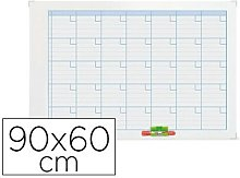 Planning magnetic.nobo mensual rotulable marco