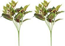 Planta Artificial de Ramas de Hiedra Roja para