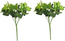 Planta Artificial de Ramas de Hiedra Verde para